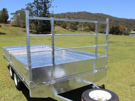 Ozzi 14x7 Flat Top Trailer 2000kg - picture10' - Click to enlarge
