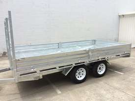 Ozzi 14x7 Flat Top Trailer 2000kg - picture11' - Click to enlarge