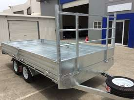Ozzi 14x7 Flat Top Trailer 2000kg - picture19' - Click to enlarge