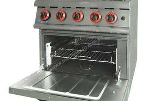 F.E.D. JZH-RP-4(R) GASMAX 800 Series Four Burner with Oven