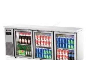 Skipio SGR18-3 Under Counter Refrigerator Three Glass Door