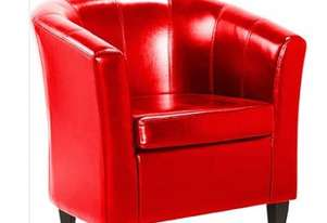 F.E.D. Lounge Chair Mentore 2 Red - DO-6070R