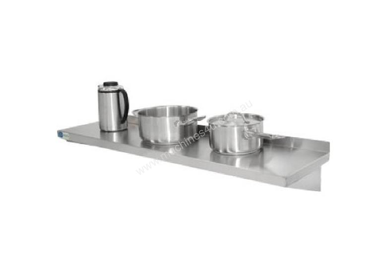Vogue Wall Shelf with Brackets St/St 1200x300mm