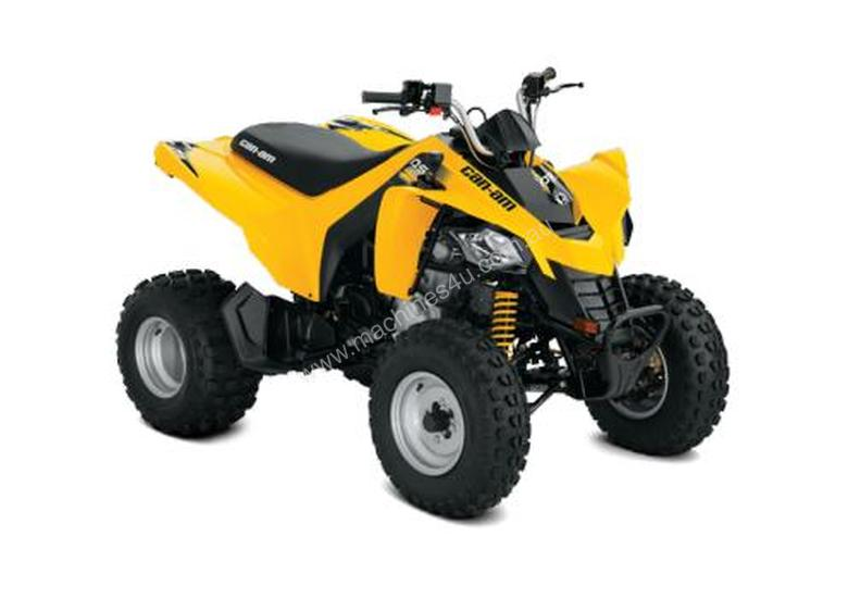 Can-Am DS 250 STD Youth ATV Yellow