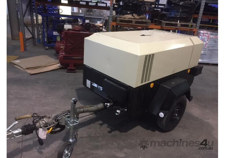 2002 Ingersoll Rand 7/41, 140cfm Diesel Air Compressor, 6 MONTH WARRANTY