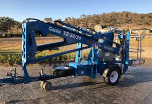 Genie TZ 34/20 Trailer Mounted Boom Lift
