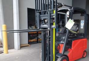 Used Forklift: E16H - Genuine Preowned Linde 1.6t