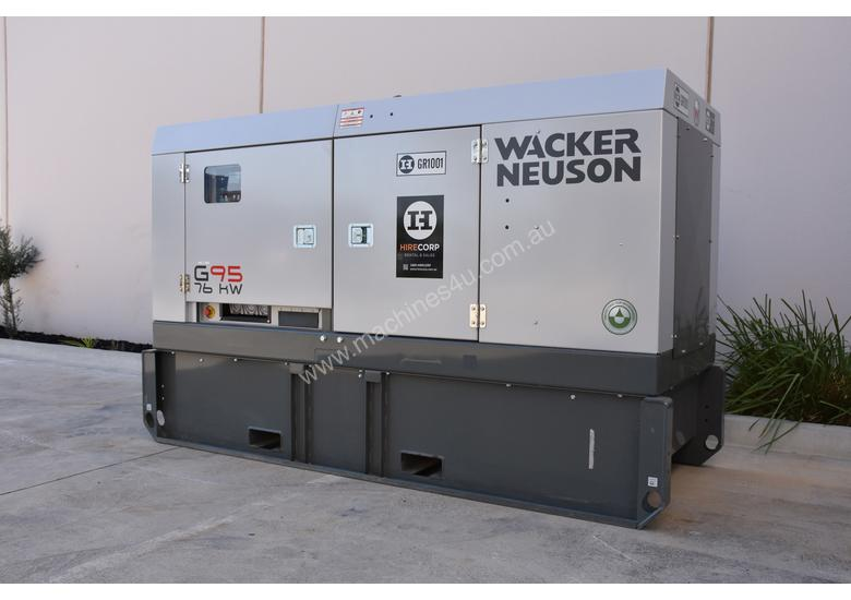 Unused Wacker Nesuson G95 Generator - 95KVA - PRICE DROP...BE QUICK!