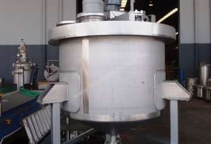 Stainless Steel Mixing Tank - Capacity 2,000 Lt