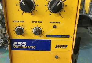 WIA MIG Welder Weldmatic 255 Single Phase 240 Volt with Seperate 255 Wire Feeder 240 amp
