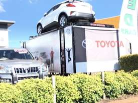 SALES SPINNER CAR HOIST FOR VEHICLE DISPLAY $66 PER DAY + gst - picture2' - Click to enlarge