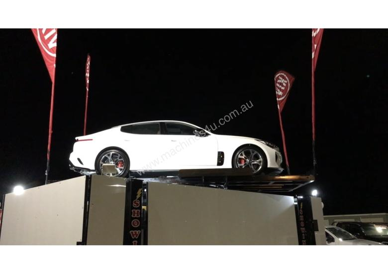 SALES SPINNER CAR HOIST FOR VEHICLE DISPLAY $66 PER DAY + gst