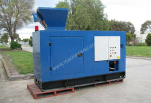 Industrial Styrofoam Shredder Semi Hot Melt Machine