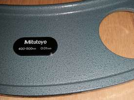 MITUTOYO 103-143A INTERCHANGABLE ANVIL OUTSIDE MICROMETER - picture0' - Click to enlarge