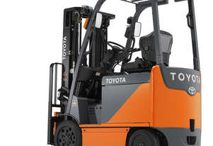 Toyota 2.0 - 3.2 8FBCU 3-Wheel Cushion Tyre Battery Forklift
