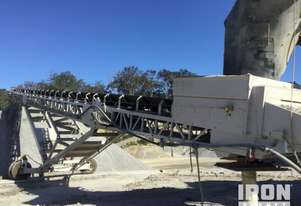 2018 (unverified) Precision Screen SM10120 Radial Stacking Conveyor