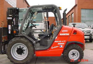 Manitou All terrain forklift hire