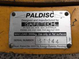 Paldisc Pallet Turntable, 2000kg rated - picture1' - Click to enlarge