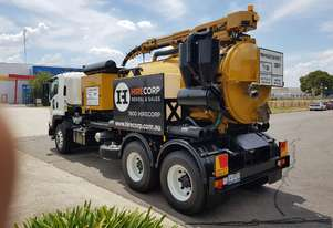 VERMEER 4500L VAC TRUCK FOR DRY HIRE