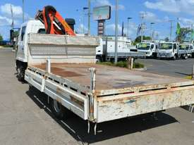 2009 MITSUBISHI FUSO FIGHTER Crane Truck Dual Cab Tray Top - picture2' - Click to enlarge