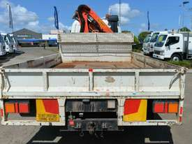 2009 MITSUBISHI FUSO FIGHTER Crane Truck Dual Cab Tray Top - picture4' - Click to enlarge