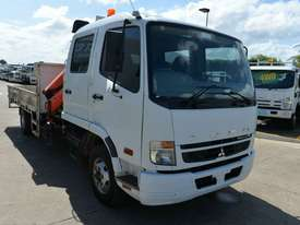 2009 MITSUBISHI FUSO FIGHTER Crane Truck Dual Cab Tray Top - picture8' - Click to enlarge