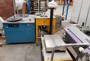 STRAPPING MACHINES x 3 + Electronic SCALES + DRUM MACHINE + LIFTER - MAKE OFFER FOR THE LOT