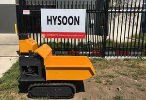 Tracked mini site dumper power barrow SWL 350kg