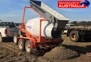 Concrete Mixer Interstate Trailers CMX1500 Cement Mini Mixer ATTMIX