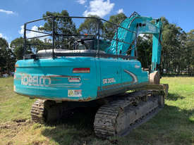 Kobelco SK350 Tracked-Excav Excavator - picture2' - Click to enlarge