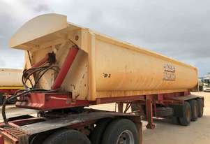 2014 ACTION TRAILERS AYQSY - TRI435 SIDE TIPPER