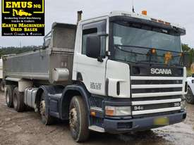 2000 Scania Twin Steer Alloy Tipper.  E.M.U.S. TS457 - picture0' - Click to enlarge