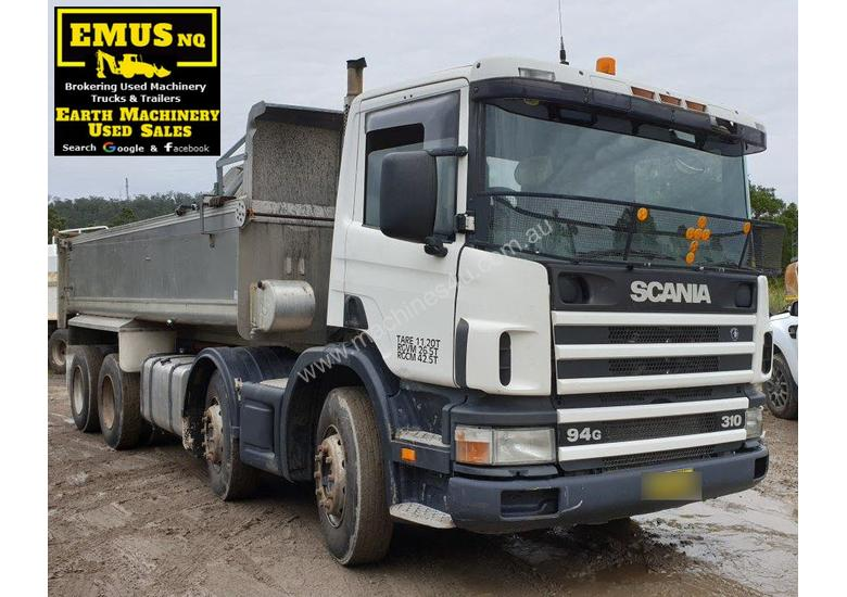 2000 Scania Twin Steer Alloy Tipper.  E.M.U.S. TS457