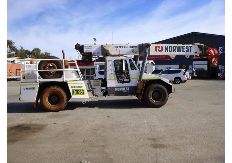 2006 Terex Franna AT-20 Articulated Mobile Crane (NCH20-3)
