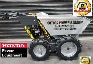 Honda Mini dumpers 4x4 power barrow