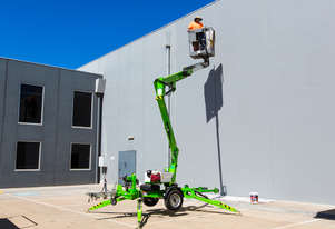 Niftylift 120T trailer mounted boom
