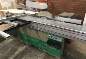 Altendorf F45 panel Saw + Dust Extraction
