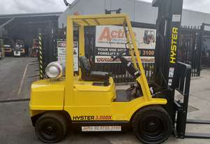 Hyster Forklift 3 Ton 3700mm lift 2002 model Side shift Fresh Paint Only $9999+gst
