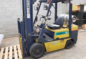 Komatsu compact 3ton capacity 3 stage 5 meter mast with side shift