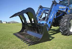 Himac Tractor Power Grapple