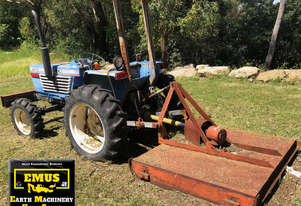 Iseki 27HP 4WD Tractor, heaps of attachments. E.M.U.S. MS624