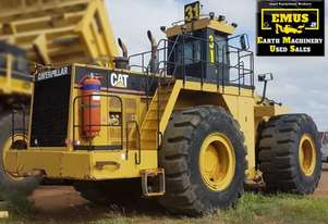 CAT 992C, had been O/H, plus attachments. E.M.U.S. MS623