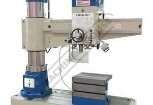 Z3050x16 Radial Arm Drill 50mm Drilling Capacity 350 - 1600mm Spindle To Column