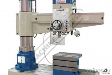 Z3050x16 Radial Arm Drill Ø50mm Drilling Capacity 350 - 1600mm Spindle To Column