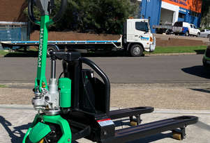 HYWORTH 1.5T Lithium Electric Pallet Jack FOR HIRE from $70pw + GST