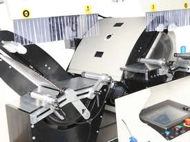 AS 434/3 Industrial Double Head Cutting Machine � 600 mm - Automation with 3 Axis Servo Control   - picture0' - Click to enlarge