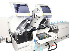 AS 434/3 Industrial Double Head Cutting Machine � 600 mm - Automation with 3 Axis Servo Control   - picture2' - Click to enlarge