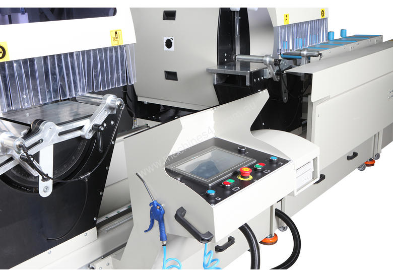 AS 434/3 Industrial Double Head Cutting Machine � 600 mm - Automation with 3 Axis Servo Control
