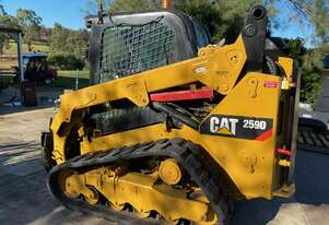 CAT 259D CTL Compact Track Loader with NEW NORM TILT HITCH