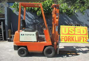 Toyota 900kg Electric Used Forklift #CS243